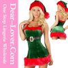 Senhora sexy Adulto Santa Natal Traje