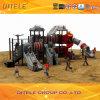 Do equipamento ao ar livre do campo de jogos das crianças do navio de espaço série III (SPIII-05601)