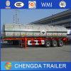 Remorque lourde de camion de réservoir de carburant de capacité
