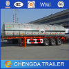 Reboque pesado do caminhão de petroleiro do combustível da capacidade da manufatura 40000L do reboque