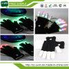 Guantes coloridos del delirio de los guantes LED de la iluminación que contellean