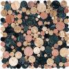 2016 Klassiek Rond Marmeren Mozaïek van Foshan China (J 1320)