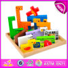 New caldo Product per Kids 2015 Toy Wooden Puzzle Game, Intelligence Toy Wooden Puzzle, Hot Sale Wooden Toy Animal Puzzle W14A109