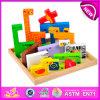Nouveau produit chaud pour le jeu en bois de puzzle de jouet de 2015 enfants, puzzle en bois de jouet d'intelligence, puzzle animal W14A109 de jouet en bois chaud de vente