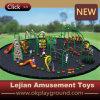 Equipamento ao ar livre do campo de jogos do divertimento colorido bonito do jardim de infância