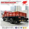 5000kg Vrachtwagen van het Buffet van de lading de Verwijderbare met 6 Banden