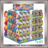 Colorful papier imprimé affichage perforé rack Box