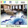 pintura de epoxy líquida del suelo del efecto 3D