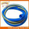 Boyau en plastique bleu flexible de l'eau de boyau de jardinage de PVC