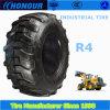 R4 굴착기 타이어 16.9-28 편견 나일론