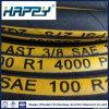 熱い販売法の高圧鋼線の編みこみのゴム製ホース