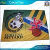 Drapeau de club du football, drapeau de polyester, drapeau fait sur commande, annonçant le drapeau (NF01F03032)