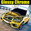 Bicromato di potassio Gold Car Wrap Vinyl con Air Ducts