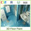 Pintura no tóxica del suelo de la resina de epoxy 3D