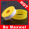 Nastro della guarnizione del filetto di PTFE, nastro giallo del Teflon, nastro adesivo del Teflon