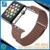 Lederne Armbanduhr-Band-Luxuxbrücke für Apple-Uhr