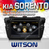 A8 Chipset S100 (W2-C224)를 가진 차 DVD Player KIA Sorento