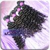 7A Curly bruto Virgen Loks brasileño de la trama del cabello humano! !