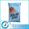 El animal doméstico laminó el bolso plástico impreso de la sal del color