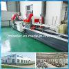 Machines en aluminium de fabrication de trappe de guichet en aluminium