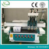 Маршрутизатор CNC Atc машины Woodworking 3 головок