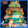 Esposizione della lanterna della decorazione del fumetto dell'albero di Natale della decorazione della sosta