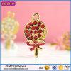 광저우 공장 도매 금에 의하여 도금되는 보석 Lollipop 펜던트 #16963