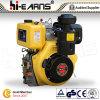 motor diesel del eje de la chavetera del comienzo del retroceso 14HP (HR192FB)