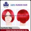 Parrucca dello Synthetic della parrucca di modo delle donne di colore rosso
