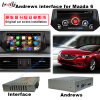 Navegador video androide del GPS del interfaz de los multimedia del coche para el soporte 2014-2016 Mazda6 Bt/WiFi/Mirrorlink