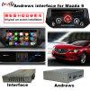 車のマルチメディア2014-2016 Mazda6サポートのための人間の特徴をもつビデオインターフェイスGPS操縦士Bt/WiFi/Mirrorlink