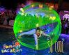 Bola inflable de Zorb del agua de la alta calidad para el rodillo que camina (CYWB-002)