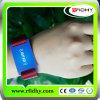 Wristband Ajustável Relativo à Promoção do Nylon do OEM RFID