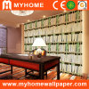 Vinilo Bookshelf Wall Paper para Walls Decoration
