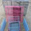 Casa animal del animal doméstico de la jaula de la jaula de China de alambre de la jaula plegable del acoplamiento