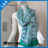 Rayon-Schal-Frauen des Grün-60