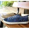Вулканизированные ботинки людей холстины Outsole ботинок резиновый (SNC-02083)
