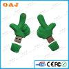 Качество большинств популярная форма большого пальца руки крышки USB PVC