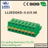 Pluggable разъем PCB терминальных блоков Ll2edgkd-5.0/5.08