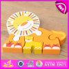 O jogo de madeira brandnew do enigma 2016, brinquedo de madeira educacional do enigma de DIY, caçoou o brinquedo do enigma, brinquedo de madeira pré-escolar W14A150 do enigma