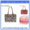 Elegante Dame Fashion Handbag mit Drucken-Segeltuch (HB-007)
