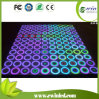 RVB DEL Danceflooring Tiles avec Tempered Glass