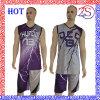Uniforme di pallacanestro di pendenza sublimata abitudine calda