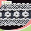 Cordón neto de nylon francés fascinador para la ropa