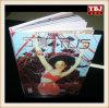 Servicio de impresión brillante del compartimiento del bajo costo de China Guangzhou Ybj del Hardcover
