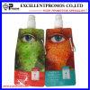 Bottiglia di acqua di plastica pieghevole di stampa di marchio (EP-B7154)