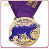 Alta qualità Custom Metal Sport Medal con Printed Lanyard