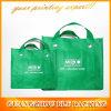 カスタム緑の非編まれた専門家は袋に入れるショッピング(BLF-NW176)を