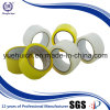 cinta de papel del embalaje del claro OPP del amarillo de la anchura de la base 48m m de 76m m