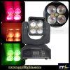 Mini luz móvil de la pista LED del zoom 4X15W del ajuste